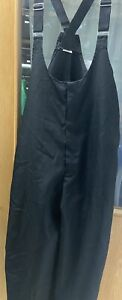 Marching Band Black Pants Bibbers Uniform Overalls One Pair Multiple sizes