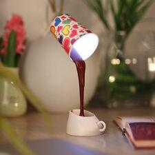 Creative DIY 8 LED Coffee Mug Light Energy-Saving Cup Lamps with USB