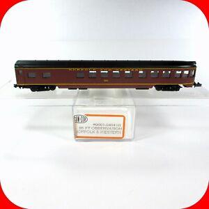 N Scale N&W NORFOLK & WESTERN 85' Passenger Coach Observation Car, CON-COR 4041B