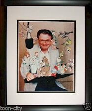 Hanna Barbera Scooby Boo-Boo hand Signed Voice Don Messick 8x10 New Frame