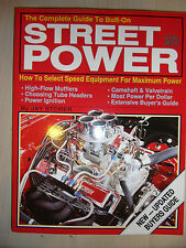 The Complete Guide to Bolt on Street Power AUTOMOTIVE MODIFY BOOK GUIDE MANUAL