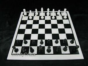 18 Inches Marble Coffee Table Top Hand Made Chess Table with King Size 03 Inches