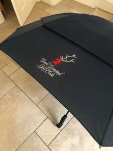 Scottish Open Loch Lomond Golf Club Umbrella. Blue