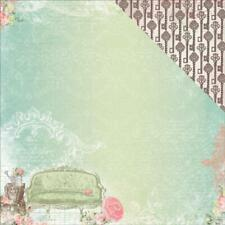 BoBunny 12x12 scrapbooking paper soiree collection , Allure 2 sheets