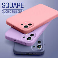 For Xiaomi Mi 11 10T 10 Lite Redmi Note 9S 9 Pro Liquid Silicone Soft Case Cover