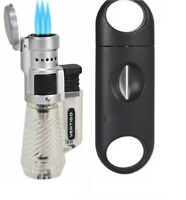 Vertigo by Lotus Cyclone 3 Torch Lighter and Sigara V Cigar Cutter