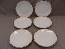 Noritake Fine China Chanossa Pattern , 6 Dinner Plates, Made In Japan