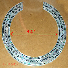 RS12# Rosette Inlay White Mother & Paua Abalone of Pearl 1.5mm thickness