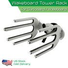 """CNC Surfboard Holder Wakeboard Tower Rack Waterski Racks Fit 1.5""""- 2.5"""" Tower"""