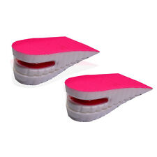 Shoe Lift Height Increase Heel Lifts Insoles Taller Air Bubble Cushion TWO LAYER