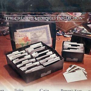 Creative Memories Power Sort Box Large Holds 2400 Photos NEW SEALED 623501 CSH