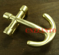 Solid Brass Belt Buckles buckle Plate Anchor shaped Classical for 38mm belt