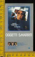 Cinema Locandina Cineadesivo Film Oggetti Smarriti
