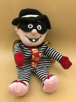 Mcdonalds Hamburglar Mascot Burglar Plush Soft Stuffed Toy Doll Mcdonaldland