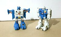 Transformers Diaclone G1 Jumpstarters TOPSPIN + TWIN TWIST Takara Hasbro 1984-85