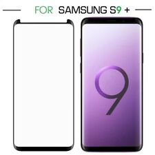 FULL GLUE Tempered Glass Screen Protector for Samsung Galaxy S9 Plus - Black