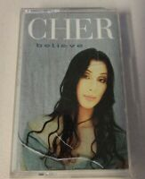 CHER Believe Cassette Tape Album (Cassette, 1998) Clean Tested Works 100%