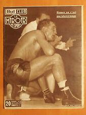 Miroir des Sports N° 431 du 5/10/1953 -Boxe, Humez ne s'est pas relevé à temps