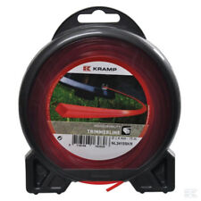 2.4 mm x 15M HEAVY DUTY STRIMMER TRIMMER SQUARE LINE