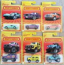 2020 Matchbox Retro Series *Target Exclusive* Set of 6 - Jeep 4x4, Land Rover