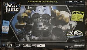Wow Wee Paper Jamz Pro Series Drums NIB