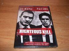 Righteous Kill (DVD Movie, 2009, Canadian) Robert De Niro Al Pacino Action NEW