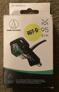 Audio Technica AT-VM95E/H - Dual Moving Magnet Cartridge and Turntable Headshell