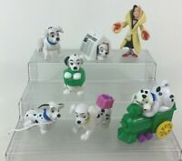 101 102 Dalmatians Toy Figures 7pc Lot Disney Mcdonalds 90s Vintage Toys M1