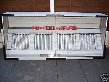 Kitchen Extraction Canopy/Hood 3 Mtr (304) Incl Baffle Filters Complies to DW172