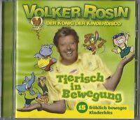 VOLKER ROSIN / TIERISCH IN BEWEGUNG - CD 2011 * NEU *