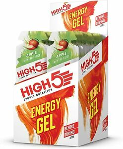 HIGH5 Energy Gel Quick Release Energy On The Go from Natural Fruit Juice 20 Gels