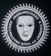 JABBAWOCKEEZ-JBWKZ- A FIGMENT OF YOUR IMAGINATIONS GRAPHIC T-SHIRT-LARGE-RARE