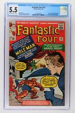 Fantastic Four #22 - Marvel 1964 CGC 5.5 Sue Storm gains more powers. 2nd Appear