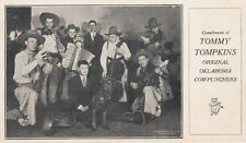 TOMMY TOMPKINS ~ ORIGINAL OKLAHOMA COWPUNCHERS ~ COUNTRY/WESTERN ~ c. - 1932