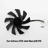 Ror GeForce GTX 1060 Mini 3GB ITX Graphics Card Cooling Fan T129215SH 4 Pin BEU