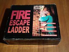 New Kiddie Fire Escape Ladder 2 Story 15 foot open box