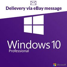 Microsoft Windows 10 Pro / Professional license activation key code 32/64 BIT