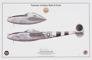 "Ace Robin Olds P-38 Lightning ""Scat II"""