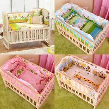 Bedding Nursery Bumper Pillow Mat Bed Set Baby Crib Cot Sets Newborn Boy Girl