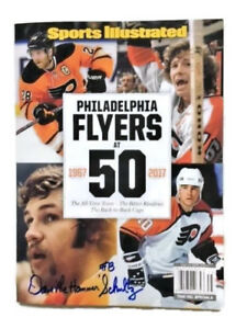 Sports Illustrated  The Flyers at 50   Signed by Dave The Hammer Schultz