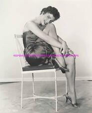 ACTRESS COLLEEN MILLER LEGGY UPSKIRT IN HEELS AND SATIN PHOTO A-CM2