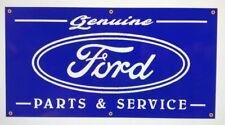 Ford parts and service Garage art Banner old school look shop sign nostalgia