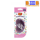 Jelly Belly ISLAND PUNCH 3D Gel Car Air Freshener JEWEL COLLECTION A1782