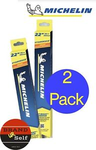 2 X MICHELIN Hydroedge Hybrid Wiper Blade New VersionAll sizes AU stock
