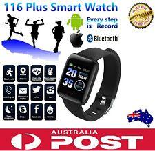 Fitbit Style Smart Watch 116+ Wristband Bracelet Band Sports Fitness Tracker AU