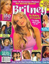 BRITNEY SPEARS Life Story Magazine 11/01 MAKING OF LEGEND