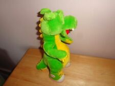 VINTAGE 1995 THE ADVENTURES OF DUDLEY PLUSH GREEN DRAGON  ANIMAL TOY DOLL