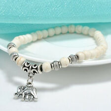 Womens Bracelet Elephant Bracelet Natural Stone Jewellery Boho Women Gift Ideas