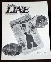 Disneyland Golden Horseshoe 1990 Cast Member News 35th Anniv