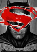 BATMAN v SUPERMAN Movie PHOTO Print POSTER Film Henry Cavill Ben Affleck 002